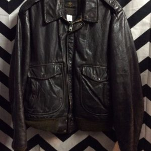 COOPER SOFT LEATHER FLIGHT BOMBER JACKET 1