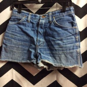 Wrangler Cutoff One Pocket Leather Patch 1