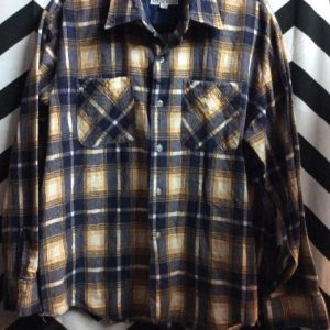 LS BD Tan Grey and White Flannel 1