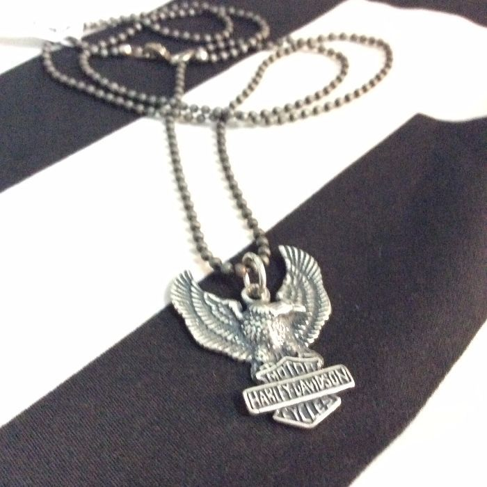 Necklace harley davidson weagle pendant ball chain boardwalk harley davidson eagle pendant neckalce ball chain 2 mozeypictures Gallery