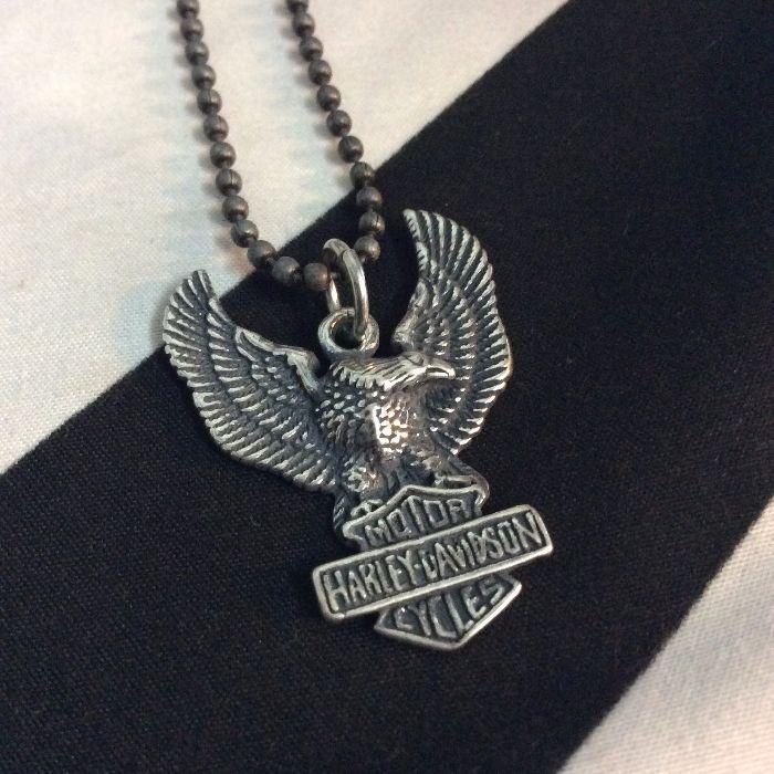 Necklace harley davidson weagle pendant ball chain boardwalk harley davidson eagle pendant neckalce ball chain 1 aloadofball Images
