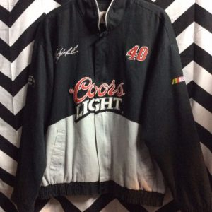 Coors Light Nascar #40 Embroidery Logo 1