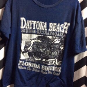 TSHIRT SUPER SOFTY THIN DAYTONA BEACH RIDERS EXTRAVAGAZA 1