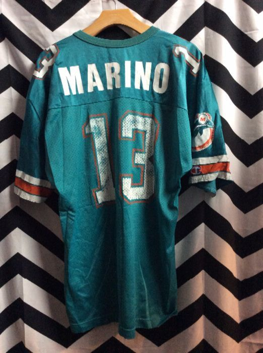 new arrival f09fc 6a2b5 CHAMPION FOOTBALL JERSEY - MIAMI DOLPHINS - MARINO #13