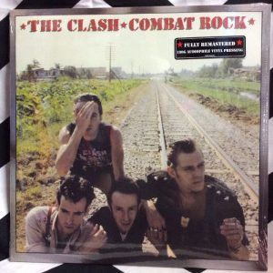 BW VINYL The Clash Combat Rock 1