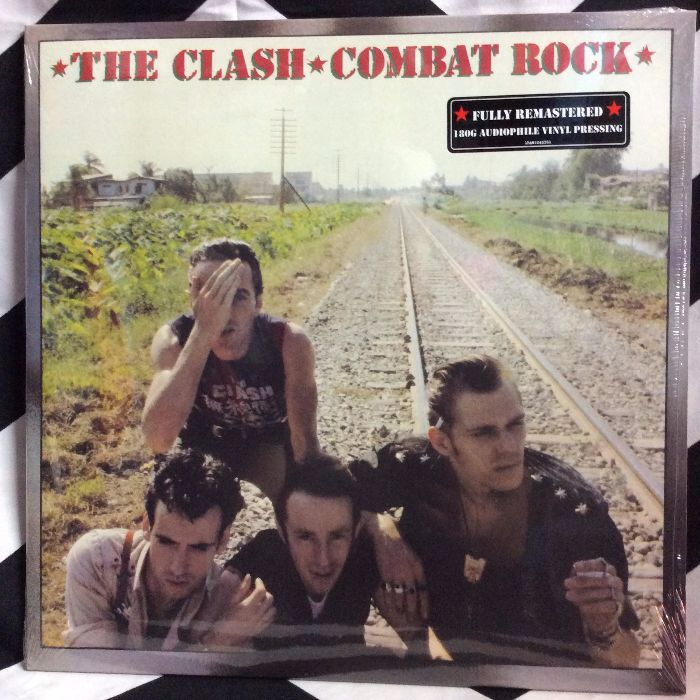 BW VINYL The Clash Combat Rock 1