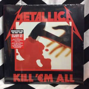 BW VINYL METALLICA KILL EM ALL 1
