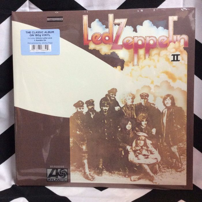 BW VINYL LED ZEPPELIN II 2 1
