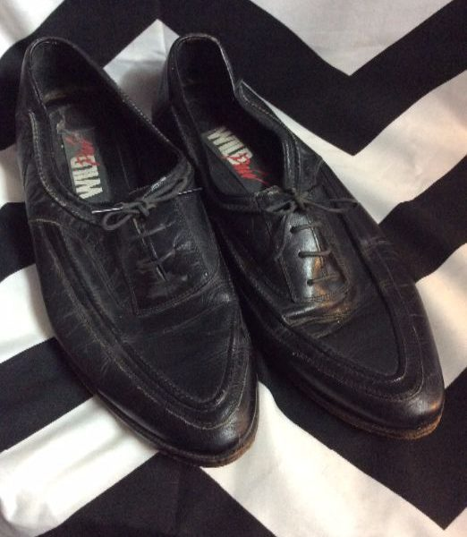 product details: OXFORD SHOES – LEATHER – POINTED photo