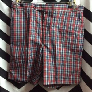 *deadstock SHORTS PLAID 1