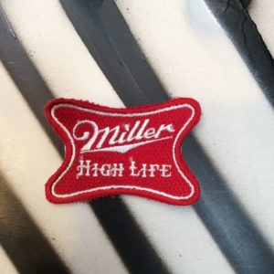 MILLER HIGH LIFE PATCH *NOS* 1