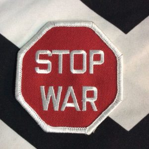 BW PATCH- STOP WAR PATCH 2025 1