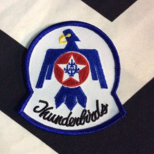 BW Patch- Thunderbirds Blue Native American Patch PM-27 1