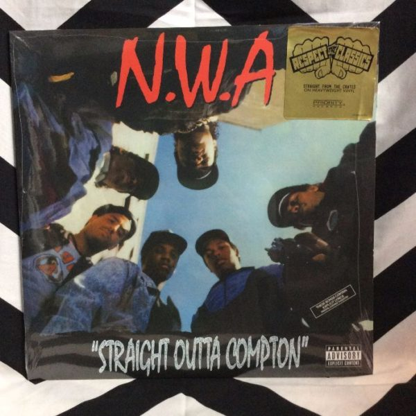 product details: BW VINYL NWA - Straight outta Compton photo