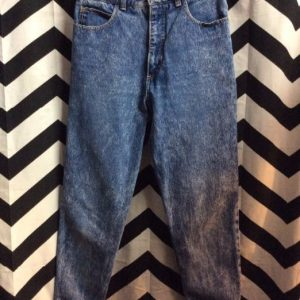 HIGH WAISTED MINERAL WASH SKINNY JEANS 1