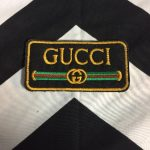 EMBROIDERED PATCH- GUCCI LOGO 1