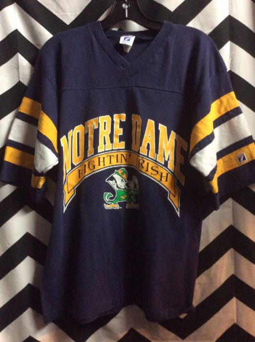 check out a1d9c 29f6f T-SHIRT/FOOTBALL JERSEY – NOTRE DAME – FIGHTING IRISH – NCAA