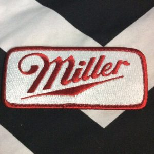 LARGE MILLER HIGH LIFE PATCHES RECTANGLE 1