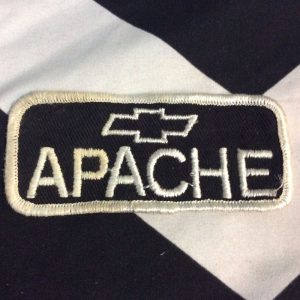 PATCH CHEVY APACHE *deadstock 1