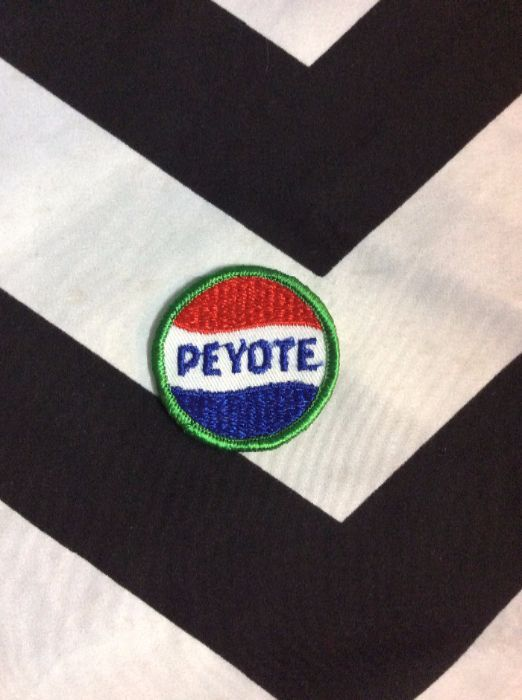 *Deadstock Peyote Circle Small Patch *old stock 1