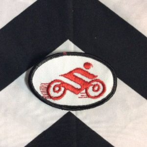 *Deadstock Suzuki S MOTORCYCLE OVAL PATCH *old stock 1