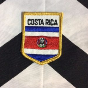 *Deadstock COSTA RICA FLAG PATCH *old stock 1