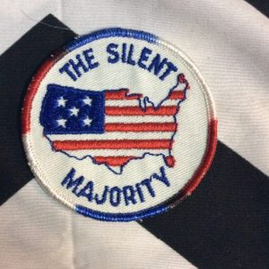 *Deadstock PATCH THE SILENT MAJORITY USA *old stock 1