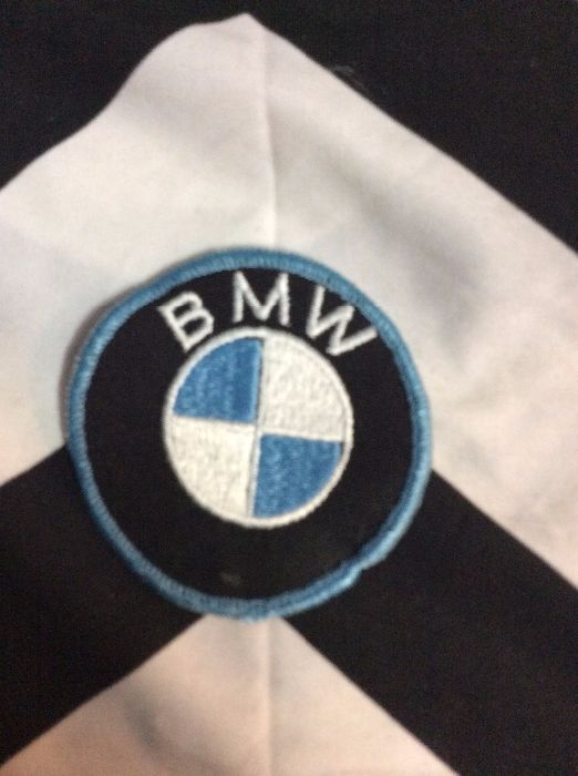 *Deadstock BMW Emblem Round Black & Baby Blue Patch *old stock 1
