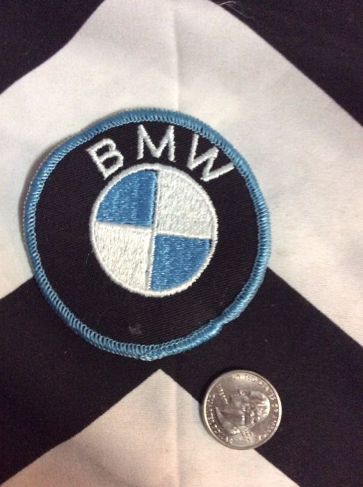 *Deadstock BMW Emblem Round Black & Baby Blue Patch *old stock 2