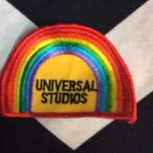 *Deadstock Universal Studios Rainbow Patch *old stock 1