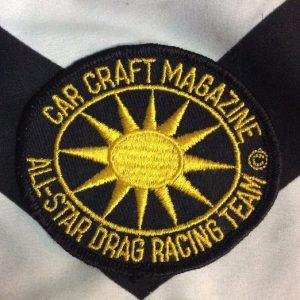*Deadstock PATCH CAR CRAFT MAGAZINE *old stock 1