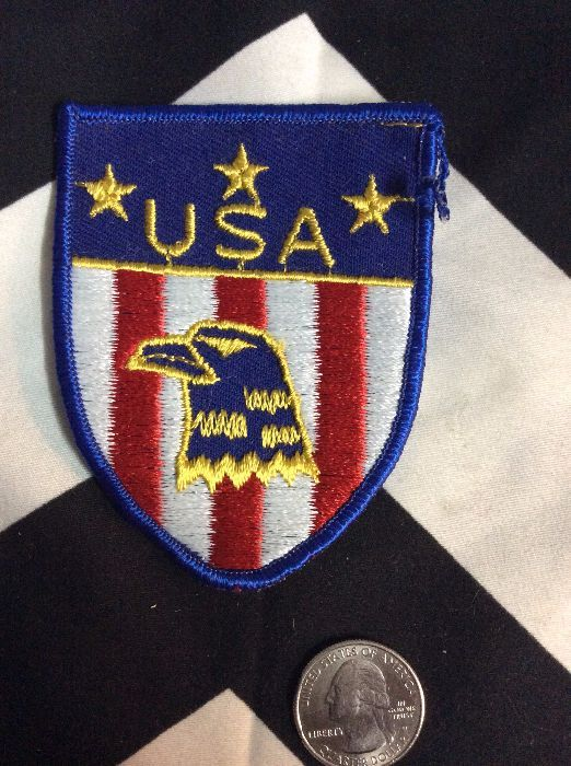 *Deadstock Crest Shield USA Eagle Head *old stock 3