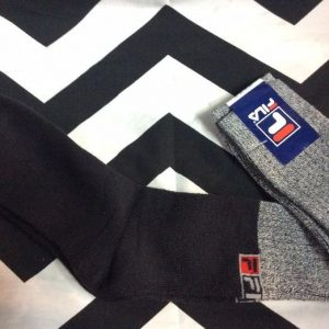 NOS NWT *deadstock FILA TUBE SOCKS made in italy 1