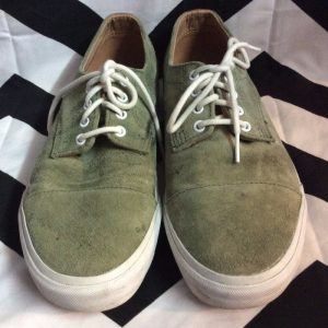 SUEDE VANS BACK LEATHER TRIM 1