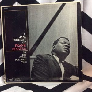 VINYL The Oscar Peterson Trio ?– A Jazz Portrait Of Frank Sinatra 1