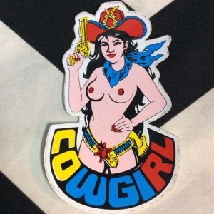 STICKER- COWGIRL 1
