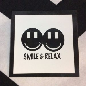 STICKER- Smile & Relax 1