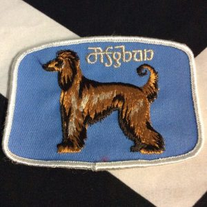 Patch- DOGS- Afghan Breed Blue *deadstock *old stock 1