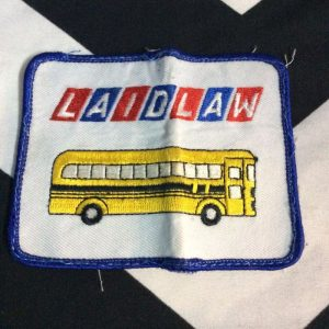 PATCH- SCHOOL BUS LAIDLAW *OLD STOCK 1