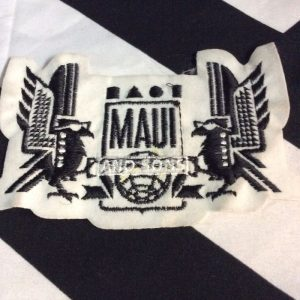 PATCH- MAUI & SONS EMBLEM *OLD STOCK 1