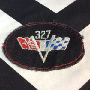 PATCH- RACING FLAG 327 *OLD STOCK 1