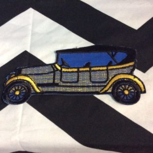 Patch- OLD MODEL T CAR PATCH LARGE *deadstock *old stock 1