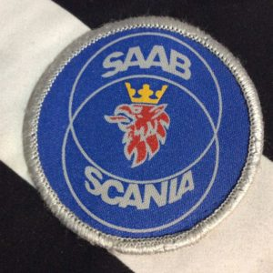 PATCH- SAAB SCANIA Logo *OLD STOCK 1