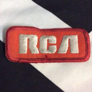 Patch- RCA Logo emblem *old stock 1