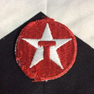 Patch- LITTLE CIRCLE TEXACO EMBLEM *old stock 1