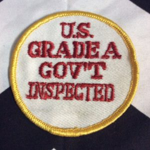 Patch- Retro US Grade A GOV'T Inspected *old stock 1