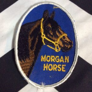 Patch- MORGAN HORSE *deadstock *old stock 1