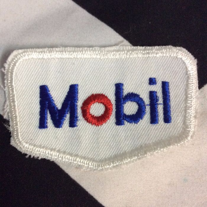 Patch- MOBILE LOGO 1960S *deadstock *old stock 1