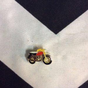 BW PIN- Motorcycle Cafe Racer Orange- 104 1