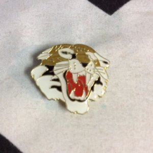 BW PIN- Large Tiger Face Side Profile- 359 1